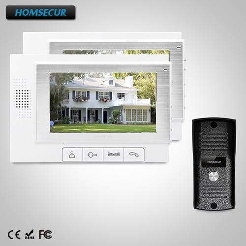 HOMSECUR 7 Wired Video&Audio Smart Doorbell+Intra-monitor Audio Intercom TC031  + TM702-W HOMSECUR 7 Wired Video&Audio Smart Doorbell+Intra-monitor Audio Intercom TC031  + TM702-W