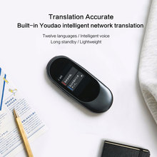 Smart Language Voice Translator Device Real Time Portable Pocket Translator Voice Translation English Chinese For Travel Study