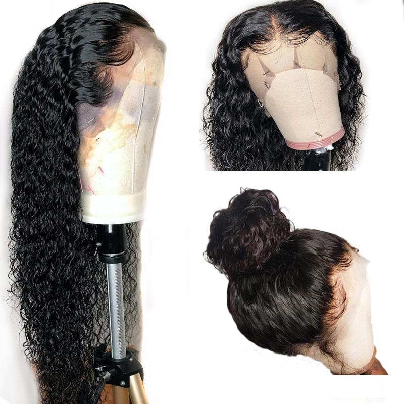 13 6 Deep Part Lace Front Human Hair Wigs for Black Women 360 Lace Fronal Wig