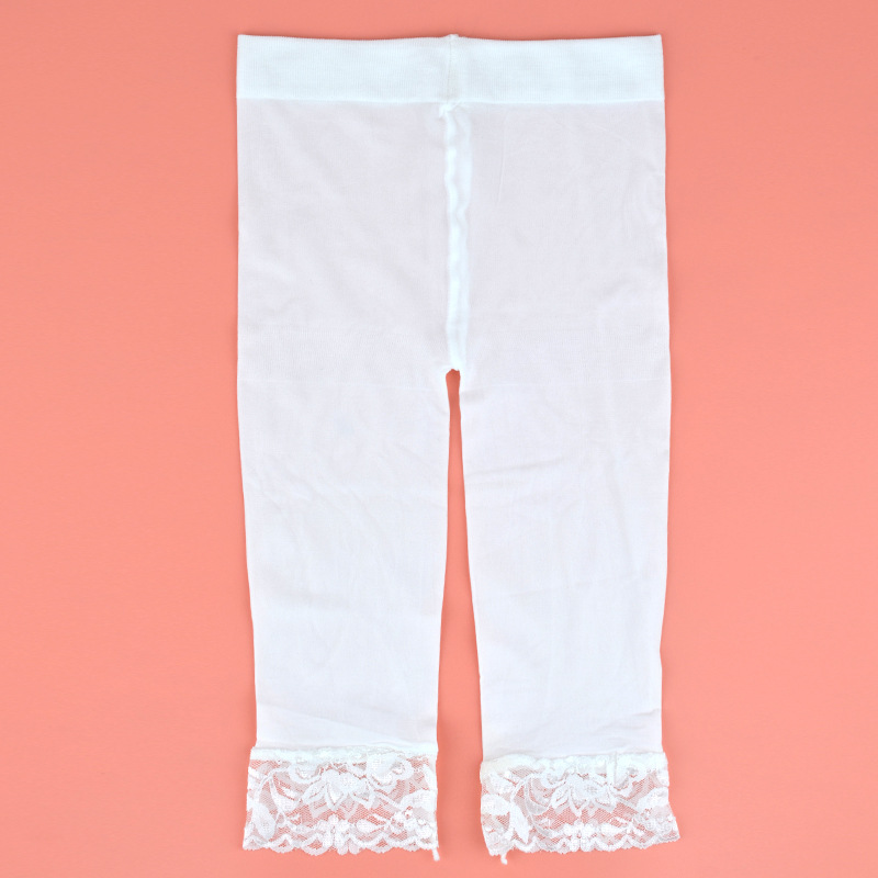 summer 0-2y baby white velvet legging kid calf-length  pants  pantyhose stocking Elastic Waist Kid Skinny Pants   Trousers