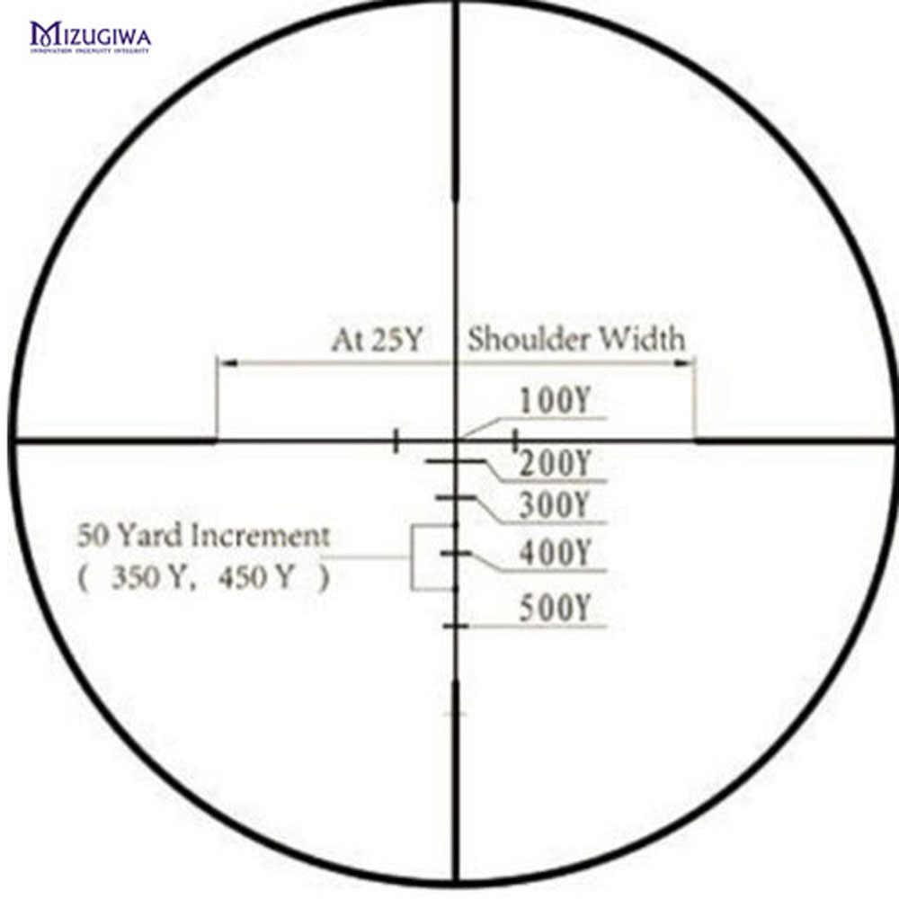 Chiến Thuật Quang Học Tầm Nhìn 2.5-7X28 Đo Xa Mặt Tỳ Hưu Riflescope Quang Tầm Nhìn Không Khí Súng Trường Phạm Vi Súng Airsoft Airgun CHASSE săn Bắn