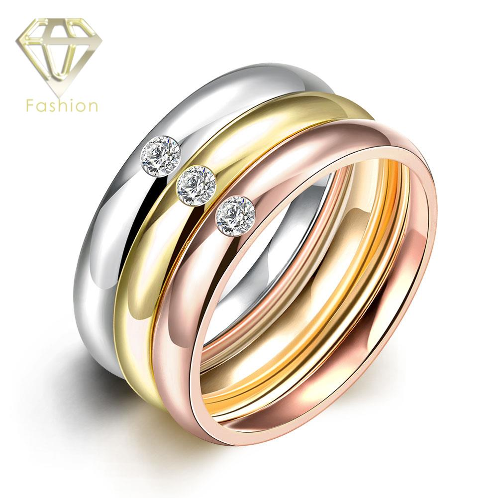 Engagement Rings For Sale Cute 9MM Wide Triple Layer 3