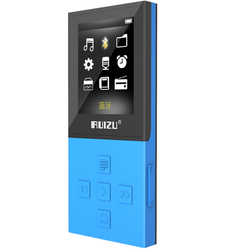 Bluetooth MP3 RUIZU X18 Sport MP3 Player with 8G playing 100 Hours high quality lossless Recorder