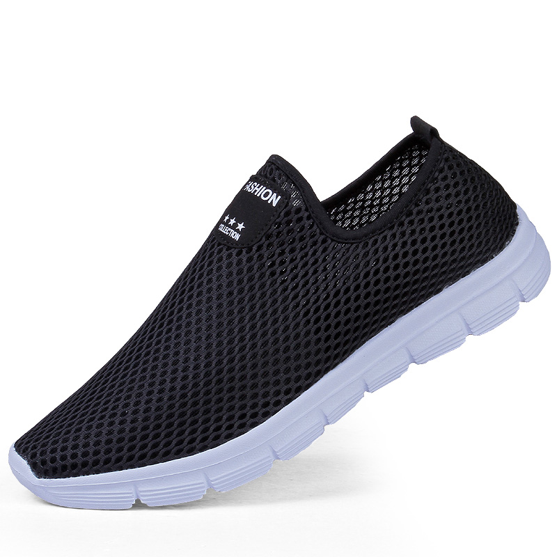 2017 New Summer Men's Shoes Fashion Shoes Casual Soft Breathable Mesh Zapatillas Deportivas Spring Lace-up Men Shoes 2017 new summer breathable men casual shoes autumn fashion men trainers shoes men s lace up zapatillas deportivas 36 45