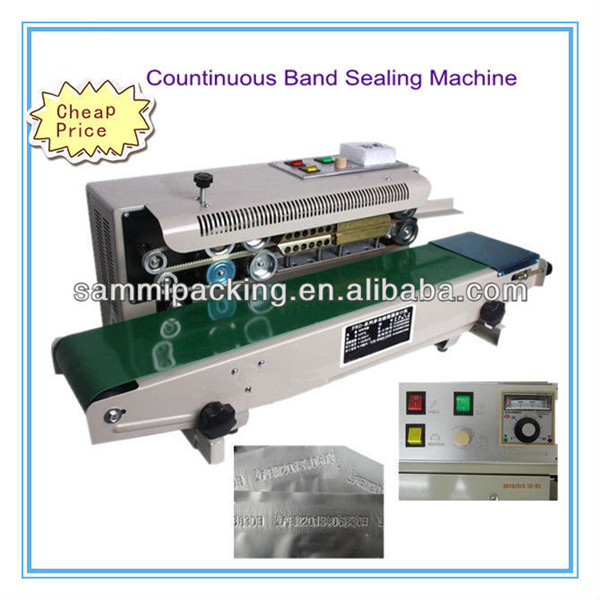 Newest FR-900 Horizontal Sealer/Continuous Sealer With Date Coder