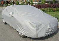 Universal Waterproof Car Covers Shield Styling Dustproof Indoor Outdoor Sunshade Heat Protection Anti UV Scratch Resistant