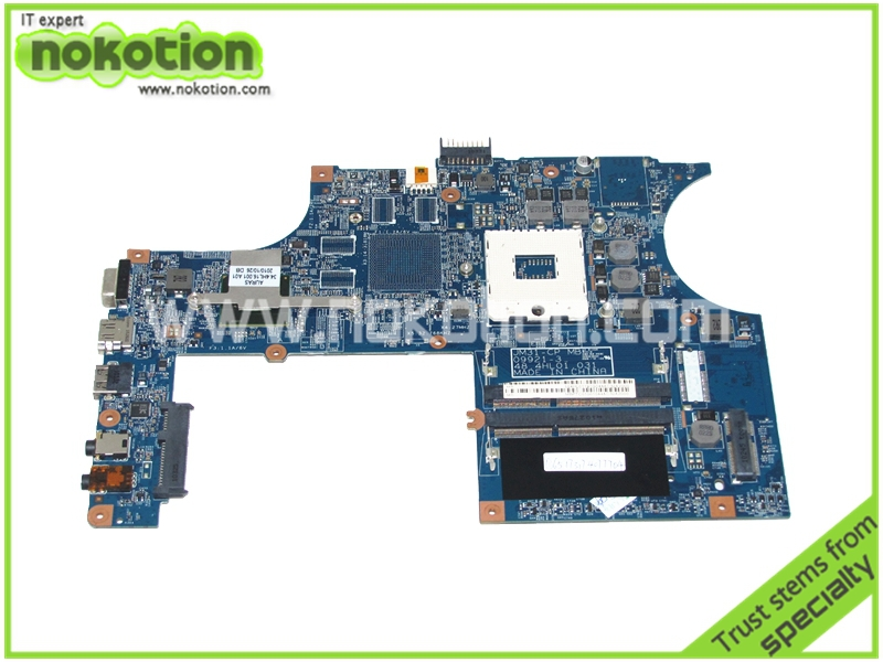 NOKOTION Laptop Motherboard for ACER 3820 3820ZG 3820GT HM55 MBPTC01001 MB.PTC01.001 JM31-CP MB 48.4HL01.031 Mainboard