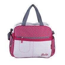 Insular Mommy-blöja väska Stor kapacitet Baby-blöja väska Designer Nursing Bag Fashion Travel Ryggsäck Baby Care Bag för Mother Kid