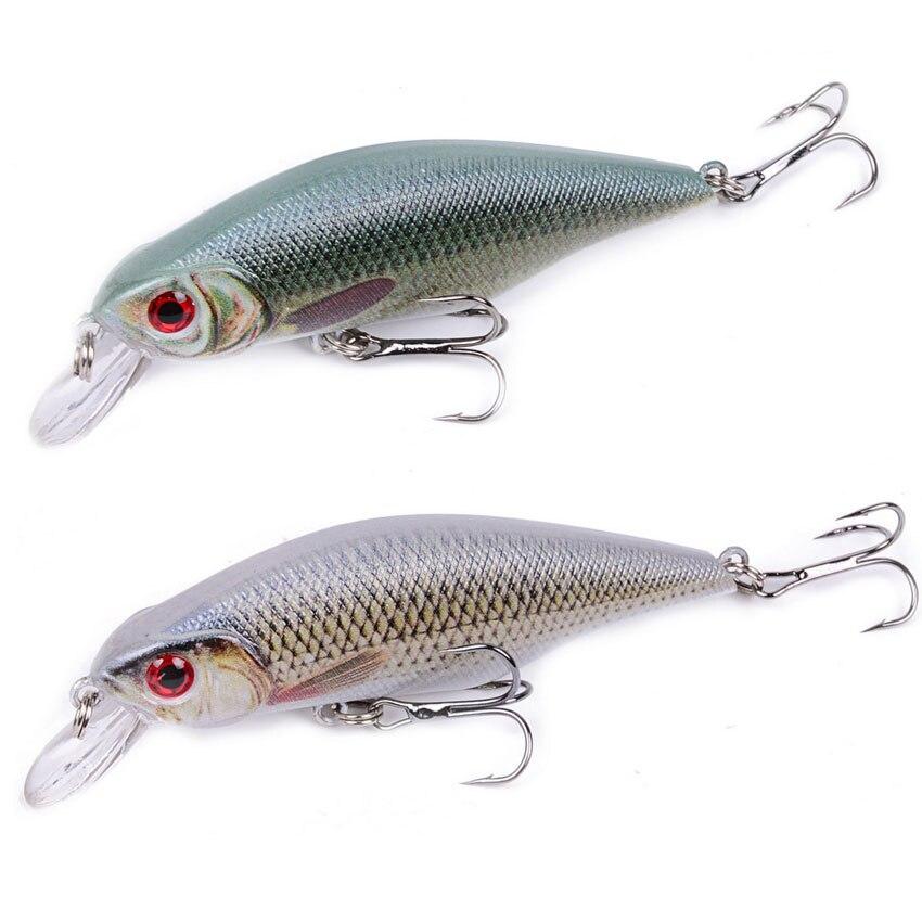 1Pcs Shad Minnow Fishing Lures 9cm 11g Wobblers Quality Professional Crankbait  3D Eyes Artificial Hard Baits