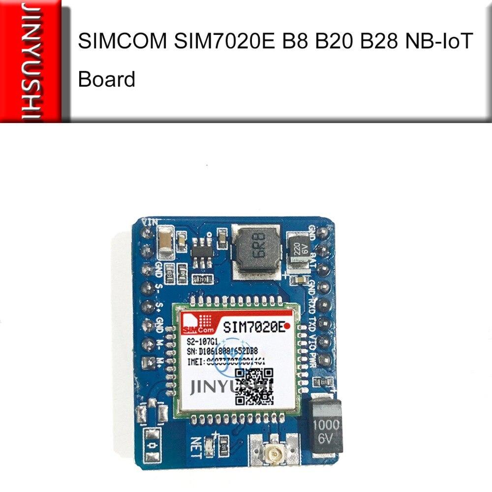 JINYUSHI New Arrival! SIM7020 SIM7020E Development Board B1/B3/B5/B8/B20/B28 LTE NB-IoT SMT Type M2M Module Instead SIM800C