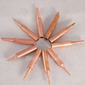 Free shipping 11 Pcs pure copper solder Iron tip 900M-T tip for soldering rework station