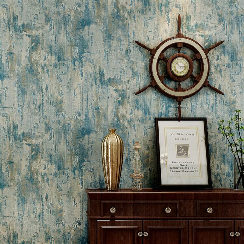 Beibehang wallpaper Vintage nostalgic American country plain wallpaper Study room living room bedroom background 3d wallpaperBeibehang wallpaper Vintage nostalgic American country plain wallpaper Study room living room bedroom background 3d wallpaper