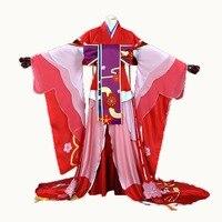 Игра заклинатель SR hellspawn Сакура до пробуждения карнавальный костюм платье красивый подарок аксессуар для волос