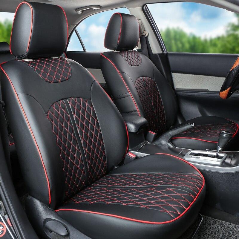 CARTAILOR PU Cubierta de Asiento de Coche de Cuero Ajuste - Accesorios de interior de coche - foto 3