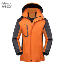 TRVLWEGO Hiking Jackets Men Women Spring Autumn Outdoor Camping Trekking Climbing Coat For Waterproof Windproof Fishing Jacket whs 2018 new men thin cotton jacket autumn outdoor windproof warm coat spring male mens camping clothes hiking jackets hot