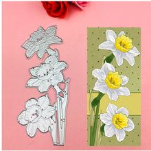 Flowers and leaves cuts metal die cutting dies scrapbooking embossing folder suit for sizzix fustella big shot cutting machine(China)