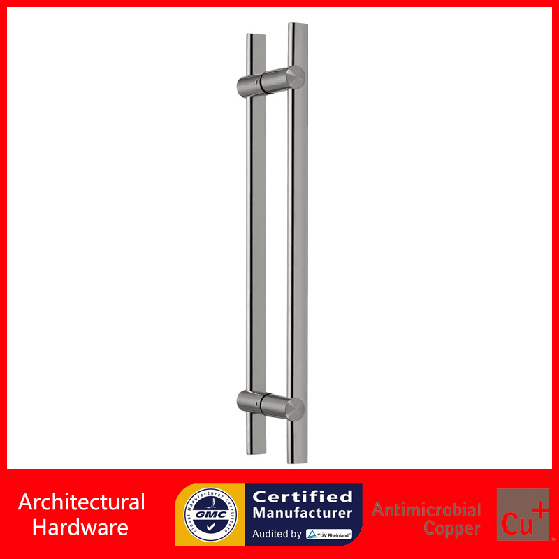 24 Inches Modern Entrance Door Pull Handles Made Of 304 Stainless Steel For Entry/Glass/Wooden/Metal Doors PA-128-30*15*600mm entrance door handle made of precision cast stainless steel pull handles pa 348 22 22 800mm for glass wooden metal doors