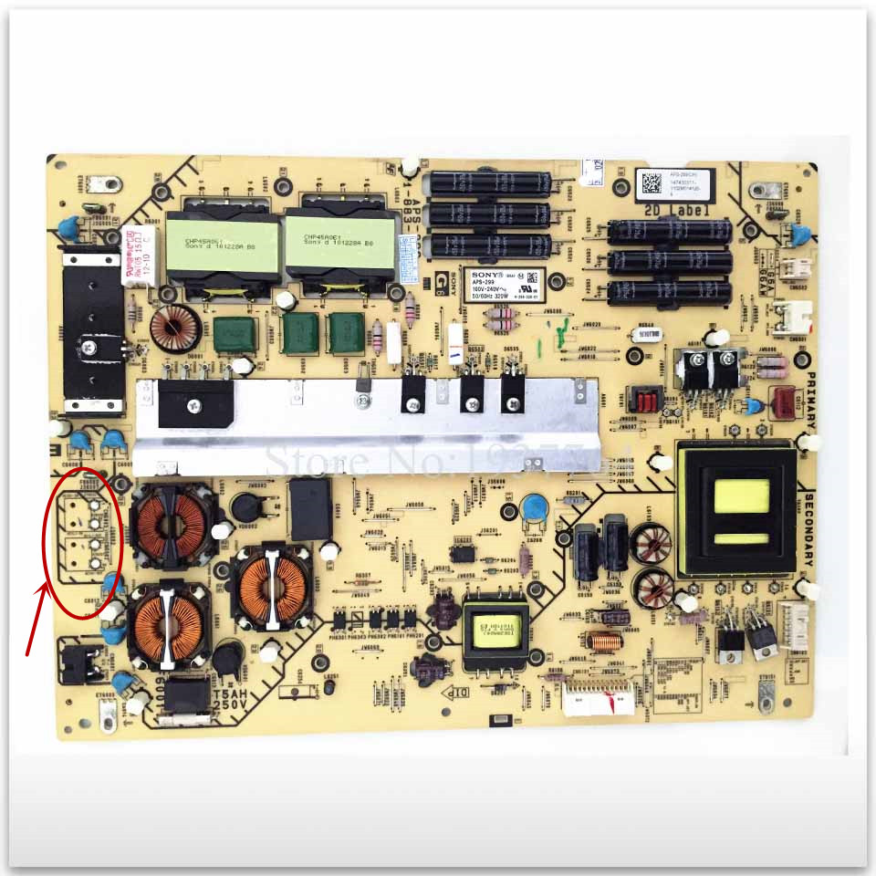 Original KDL-60NX720 power supply board 1-883-922-14 APS-299 147430311 original kdl 55w800a power supply board 1 888 356 11 1 888 356 31 aps 342 b