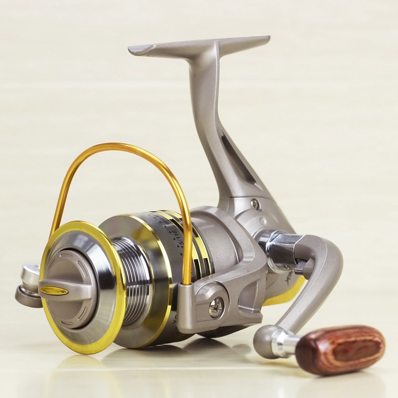 New Metal Spinning Reel Fishing 8 Cuscinetti Rapporto di Velocità 5.2: 1 Pesca con la Lenza Winder per la Pesca in Barca Sul Mare Roccia ALS88