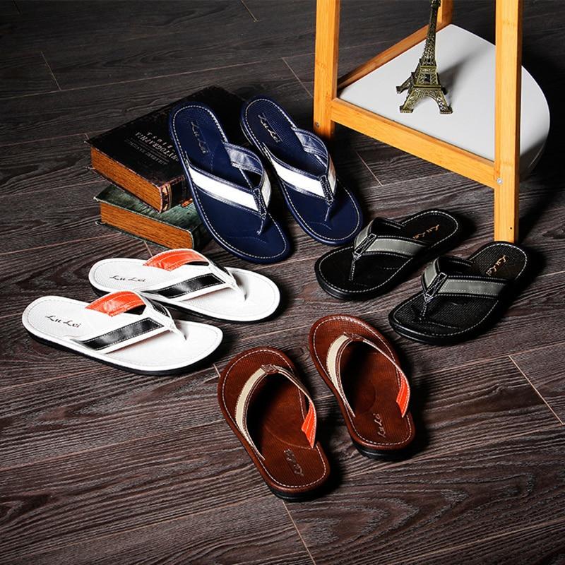 2018 novi trendovi casual flip-flops flip-flops ljetne ne-slip nosive - Muške cipele - Foto 4