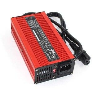 Image 4 - 67.2V 3A Charger 67.2V Li Ion Batterij Smart Charger Voor 16S 59.2V 60V Li Ion Batterij Hoge power Met Ventilator