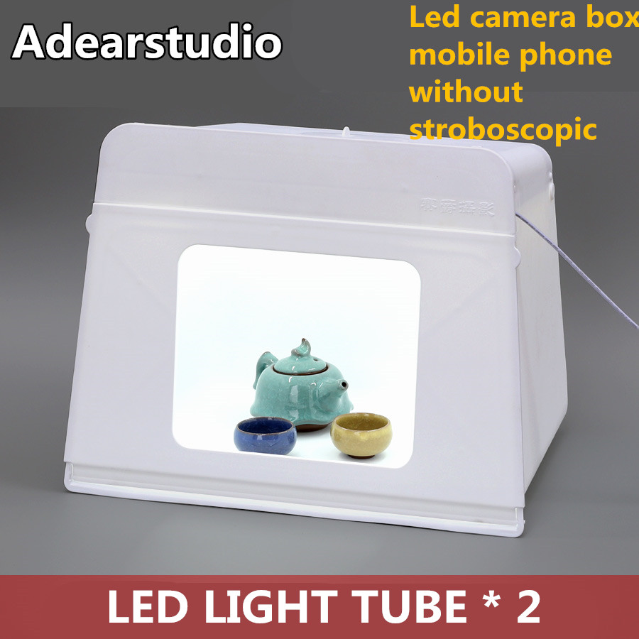 Adearstudio Hotsale Light Box Photography 46cm Led Shooting Studio Lamp Lightbox Products Jewelry Equipment