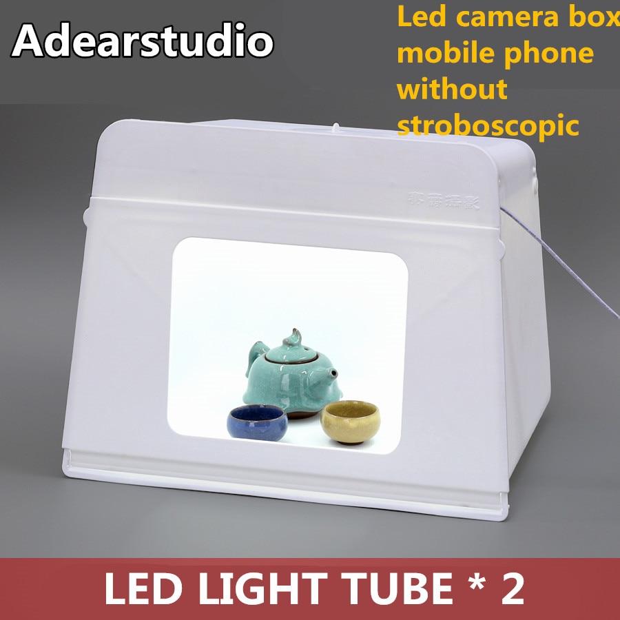Adearstudio hotsale lumina caseta de fotografiere 46cm Box Led - Camera și fotografia