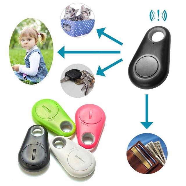 Домашние питомцы умный мини-трекер gps для собак анти-потерянный сигнал тревоги Водонепроницаемый Bluetooth Tracer собака кошелек с котами для ключей детские карманные трекер оборудование