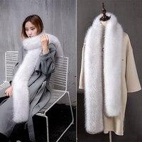 Winter warm scarf quality faux fur shawl collar fox fur rabbit fur scarf lady color shawl / fashion style