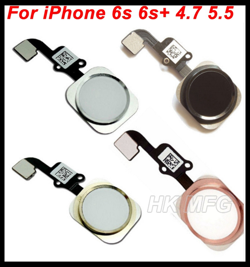 quality design 413ae 25bca US $10.9 |XCHMFG Repair For iPhone 6S Home Button flex cable Assembly menu  Button flex Ribbon assembly For iPhone 6s 6s+ 6splus 4.7'' 5.5-in Mobile ...