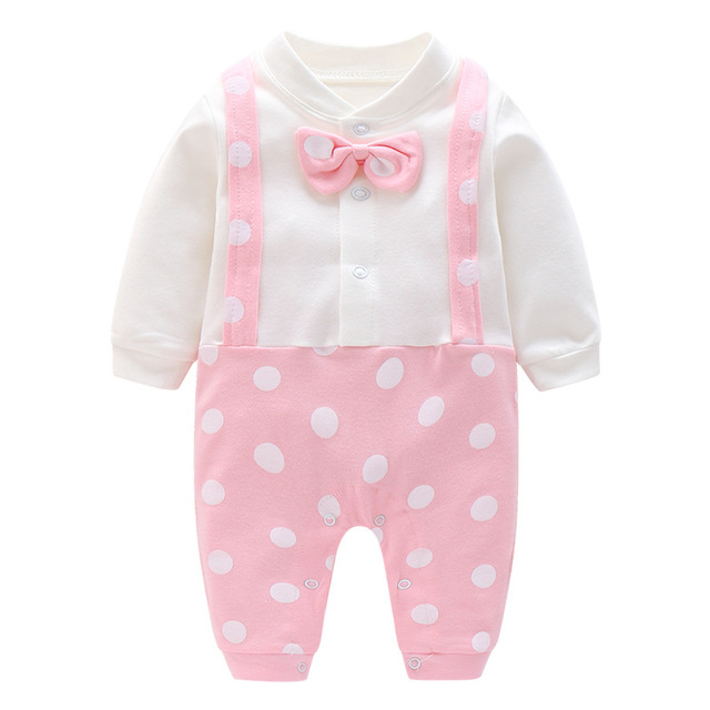 3b525da32 Aliexpress.com   Buy BibiCola baby girls romper spring autumn ...