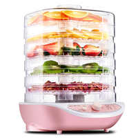 Dried Fruit Vegetables Herb Meat Machine Household MINI Food Dehydrator Pet Meat Dehydrated 5 trays Snacks Air Dryer EU US