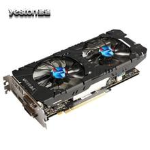 New Arrival Yeston Radeon RX570 4G GDDR5 Graphics Card 256bit 2048 Units 1244MHz Core Clock Dual