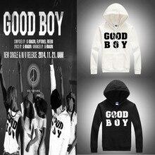 Kpop right Zhi-Long good boy thick hooded dress shirts successful tool Bigbang k-pop song cap baseball uniform hoodies wool GD