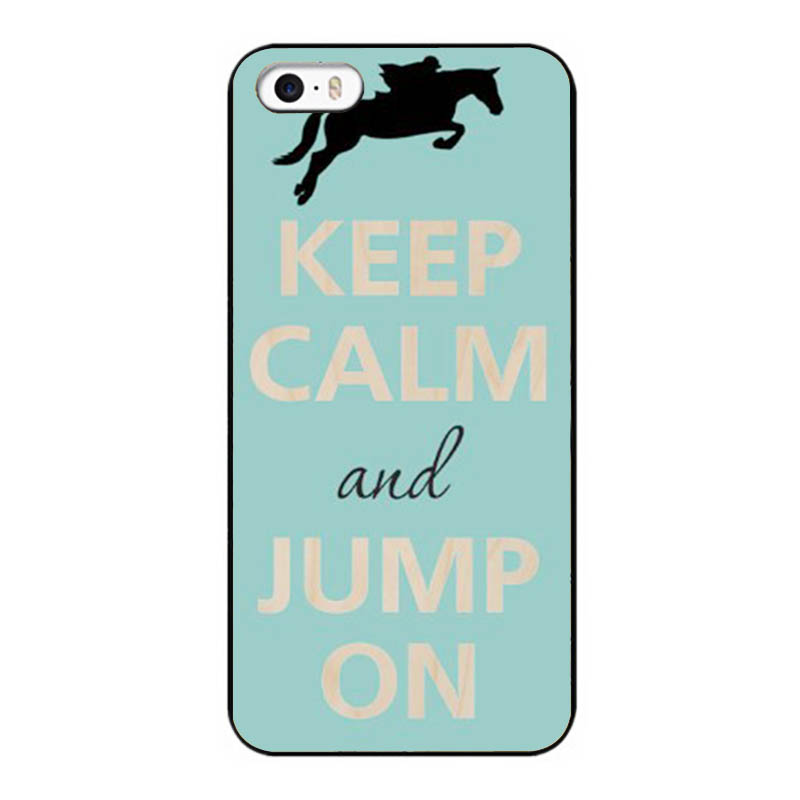 Keep Calm and Jump On Jockey & Horse Wholesale Lots Case for Iphone 5 5s