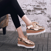 2018 spring and summer leather casual shoes with a womans sandals