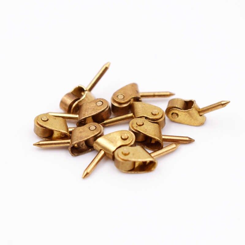 1:6 Mini Door Knobs Handles Dollhouse Miniature DIY Accessory 10pcs Bronze
