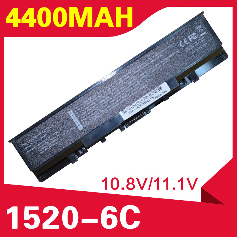 ApexWay 4400mAh Laptop <font><b>Battery</b></font> For <font><b>dell</b></font> <font><b>Inspiron</b></font> 1520 1521 <font><b>1720</b></font> 1721 530s Vostro 1500 1700 0UW280 UW280 image