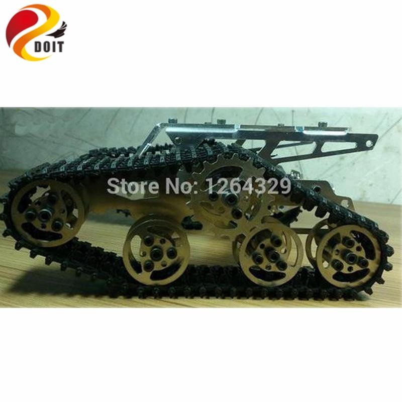 Službeni DOIT Tank Car Chassis gusjenica za DIY / Full Metal - Igračke s daljinskim upravljačem