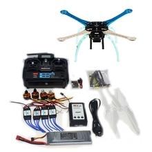 DIY Drone QQ Controller Version Radiolink T6EHP-E 2.4G TX&RX S500-PCB Multi-Rotor Frame Full Kit Motor ESC