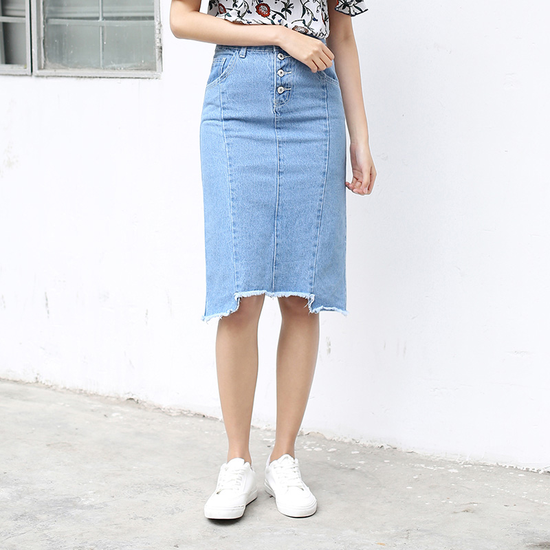 Online Get Cheap Distressed Denim Skirt -Aliexpress.com | Alibaba ...