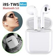 Новый i9S СПЦ беспроводной мини Bluetooth наушники стерео Спорт гарнитура Bluetooth 5,0 наушники-вкладыши с микрофоном для всех смартфонов