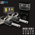 2pcs 80W 9600LM With ETI Led Chip Car Headlight Conversion Kit Fog Bulb H1 H3 H4 H7 H11 880 9005 3000K 4300K 8000K LED Lamp