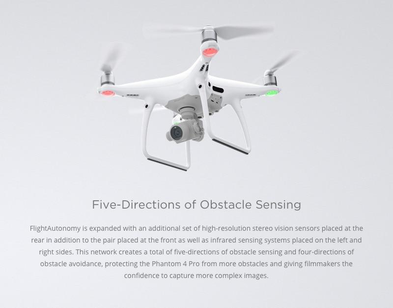 DJI PHANTOM 4 PRO Drone with 4K HD Camera 1 inch 20MP CMOS RC Quadcopter FPV Combo