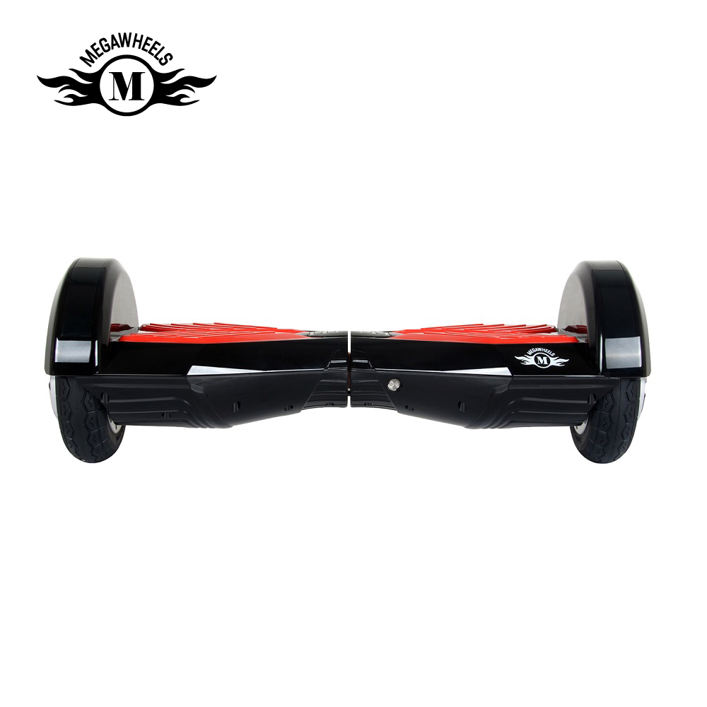 Hoverboards 8″ TW02-1 Electric Self Balance Scooter Bluetooth Horse Race Lamp Remote Control DE Warehouse (Black-Red)
