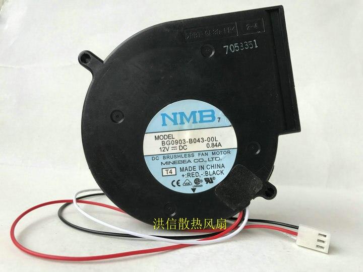 NMB cooling fan BG0903-B043-00L 9733 12V 0.84A Blower Centrifugal Fan Switch 3550 Server