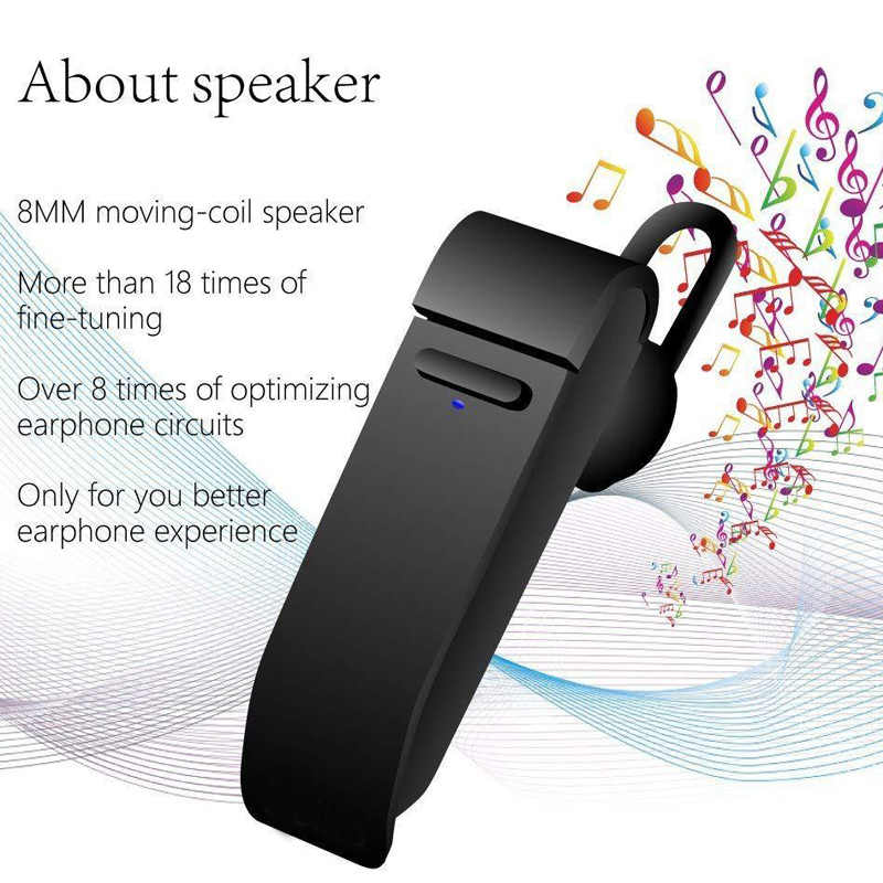 16 Languages Wireless Bluetooth Translator Earphone Business Headset Trabslation