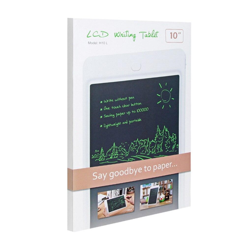 все цены на 10 inch LCD Writing Tablet Drawing Board Paperless Digital Notepad Rewritten Pad for Draw Note Memo Children With Stylus Pen онлайн