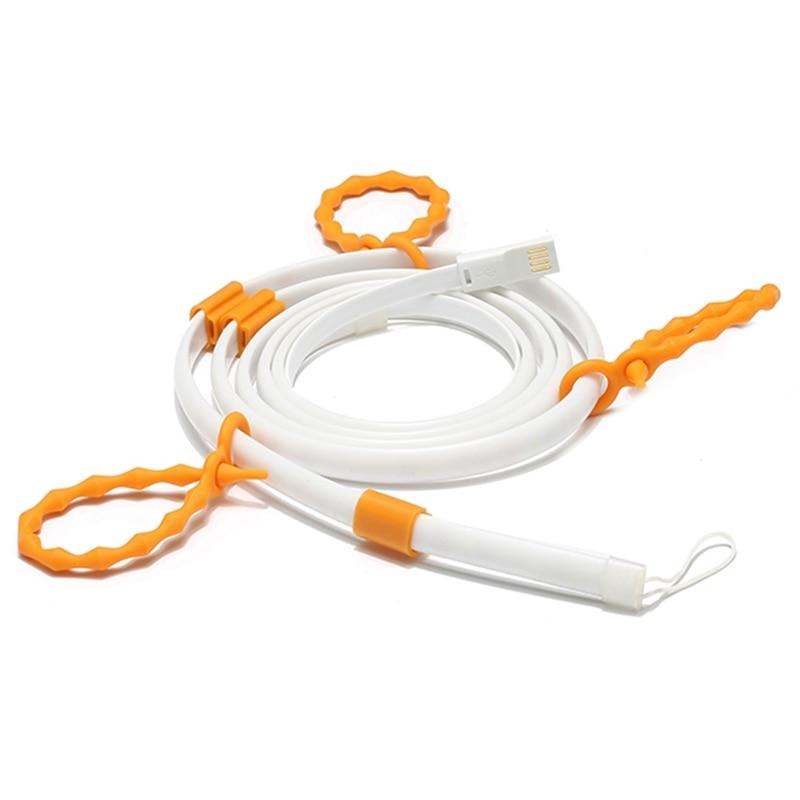 Luz Blanca flexible portable 1.5/2 M USB impermeable SMD 3528 LED luz lámpara linterna para acampar senderismo DC5V