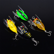 2017 Time-limited Rushed Fly Fishing 1pcs Colors Fishing 4cm/6.4g Tackle Cicada Classic Bass Crankbaits Outdoor Tool Accessories
